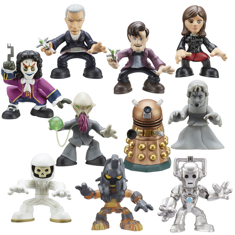 Doctor Who Time Squad Figure scegliere da Character Building