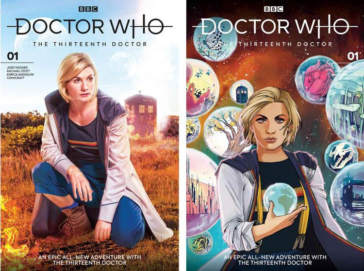 doctor who titan comics 13th doctor issue 1 13 covers