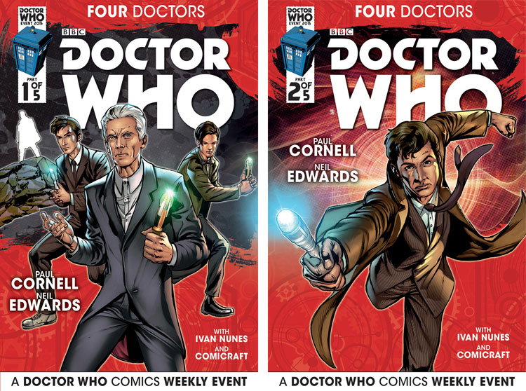 The First Issue Releases Wednesday August 12 Supported By Global Doctor Who Comics Day On Saturday 15