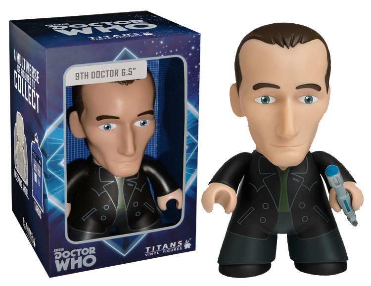 Titan Merchandise Exclusive Doctor Who 9th Doctor Vinyl 6.5