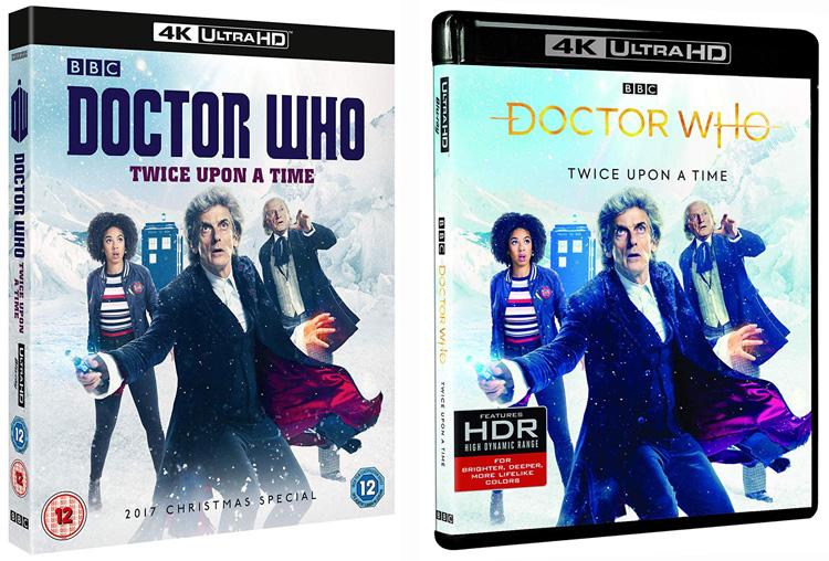 Twice Upon A Christmas Doctor Who.Doctor Who Twice Upon A Time 4k Uhd Uk Usa Merchandise