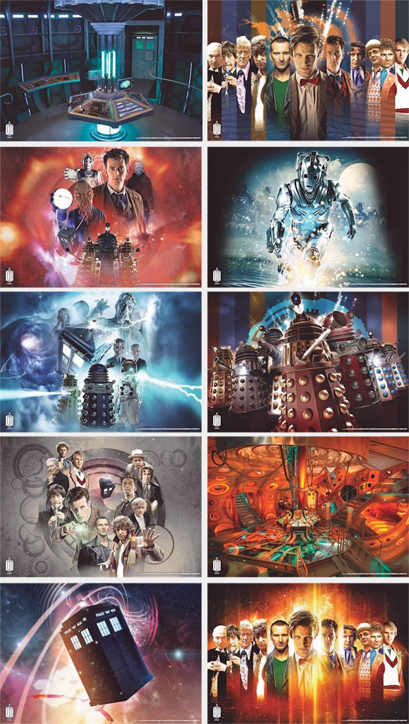 Doctor Who Wallpaper Mural New Tardis Interior Merchandise Guide