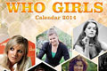 Doctor Who Who Girls Calendar: 2014