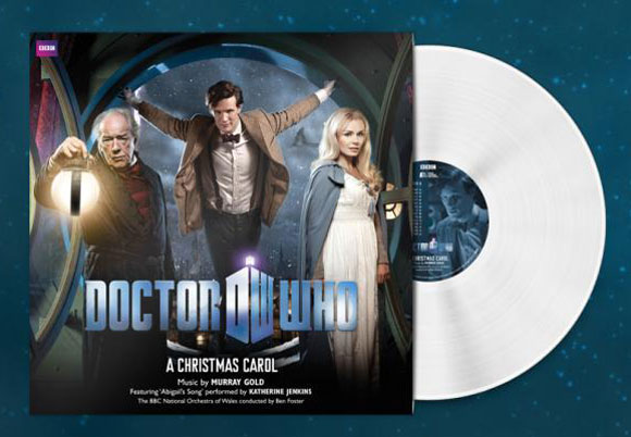 Doctor Who: A Christmas Carol White Vinyl LP – Merchandise Guide - The Doctor Who Site