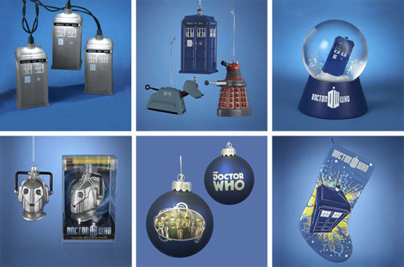 Doctor Who Glass Cyberman Ornament – Merchandise Guide - The ...