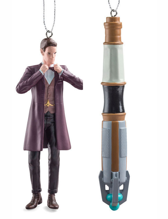 Tree Ornaments 11th Doctor / Sonic From UK BBC Shop – Merchandise ...
